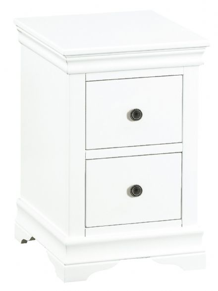 Stratford White Painted Small Bedside Cabinet